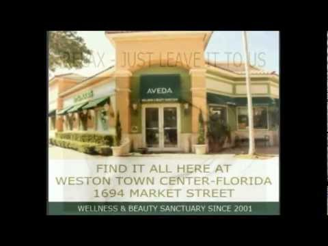 WESTON TOWN CENTER - BEST DAY SPA AT WESTON FLORIDA - AVEDA PRODUCTS