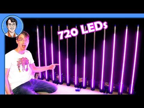 Building a 720 LED RGB Graphic Visualiser