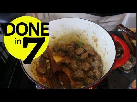 Daging Pedas Masak Rempah - Done In 7.