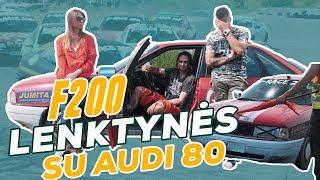 #2 išbandymas: Audi 80 pasirodė lenktynėse... / Spausk Gazą!