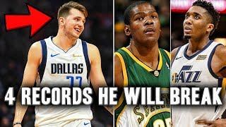 4 NBA Records Luka Doncic Will Break In His Rookie Season