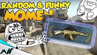 CS:GO Funny & Random Moments - MASTER GUARDIAN GUY RAGE