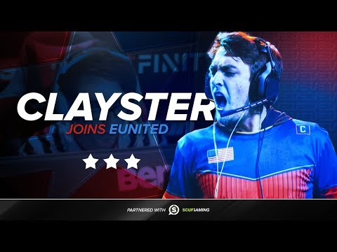 Clayster Joins eUnited - Gunless Joins FaZe