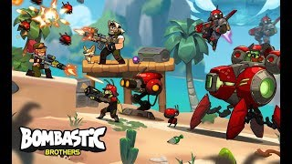 Bombastic Brothers – Top Squad - iOS Gameplay