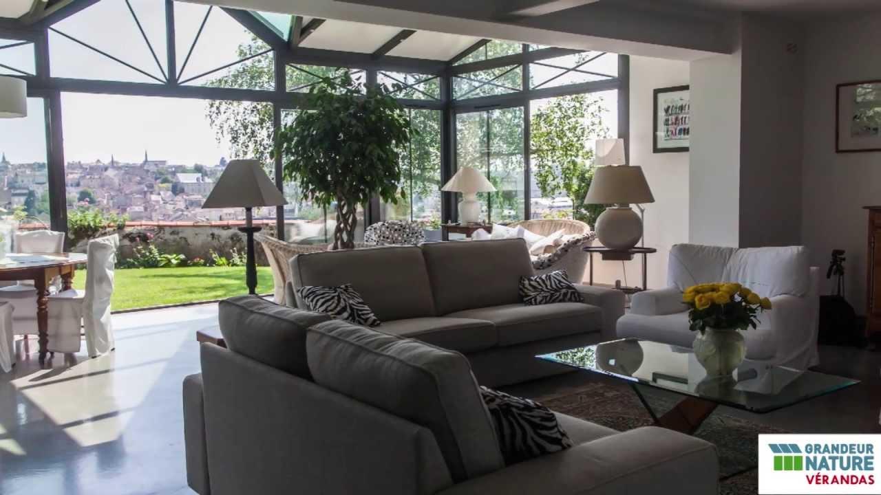 une veranda grandeur nature sur 2 etages les clients temoignent