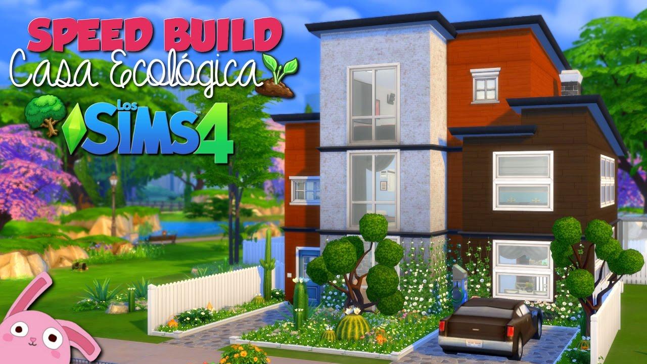 los sims casa ecolgica speed build