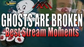 GHOSTS ARE BROKEN - Best Stream Moments #21 - League of Legends