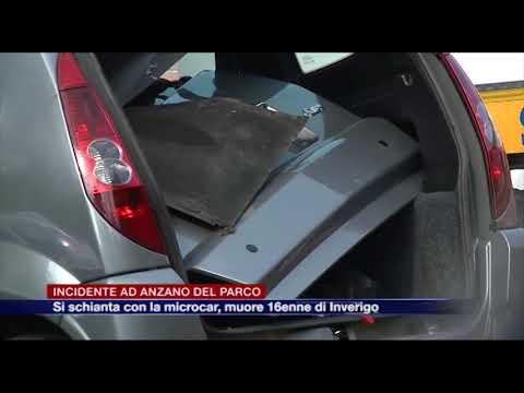 Etg - Incidente ad Anzano del Parco, muore 16enne