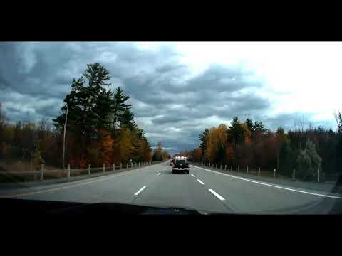 Superload going to Ottawa, 165', load assist