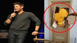 Jensen Ackles KICKED A Hotel Door DOWN Because His Key Did Not Work