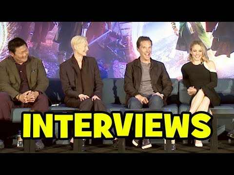 Doctor Strange FULL PRESS CONFERENCE - Benedict Cumberbatch, Tilda Swinton, Rachel McAdams