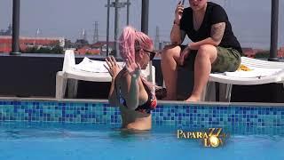 Sanja i Matora se ljube na bazenu