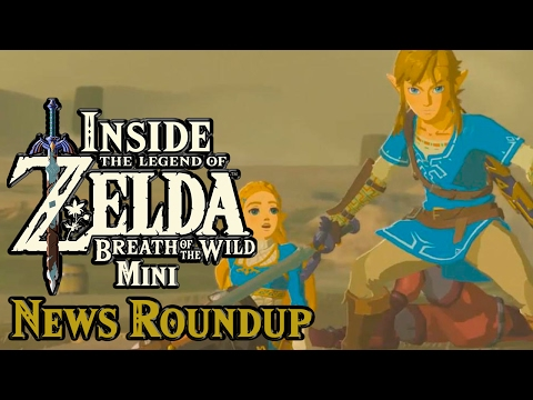 Zelda: Breath of the Wild - News Roundup and Pro setting!