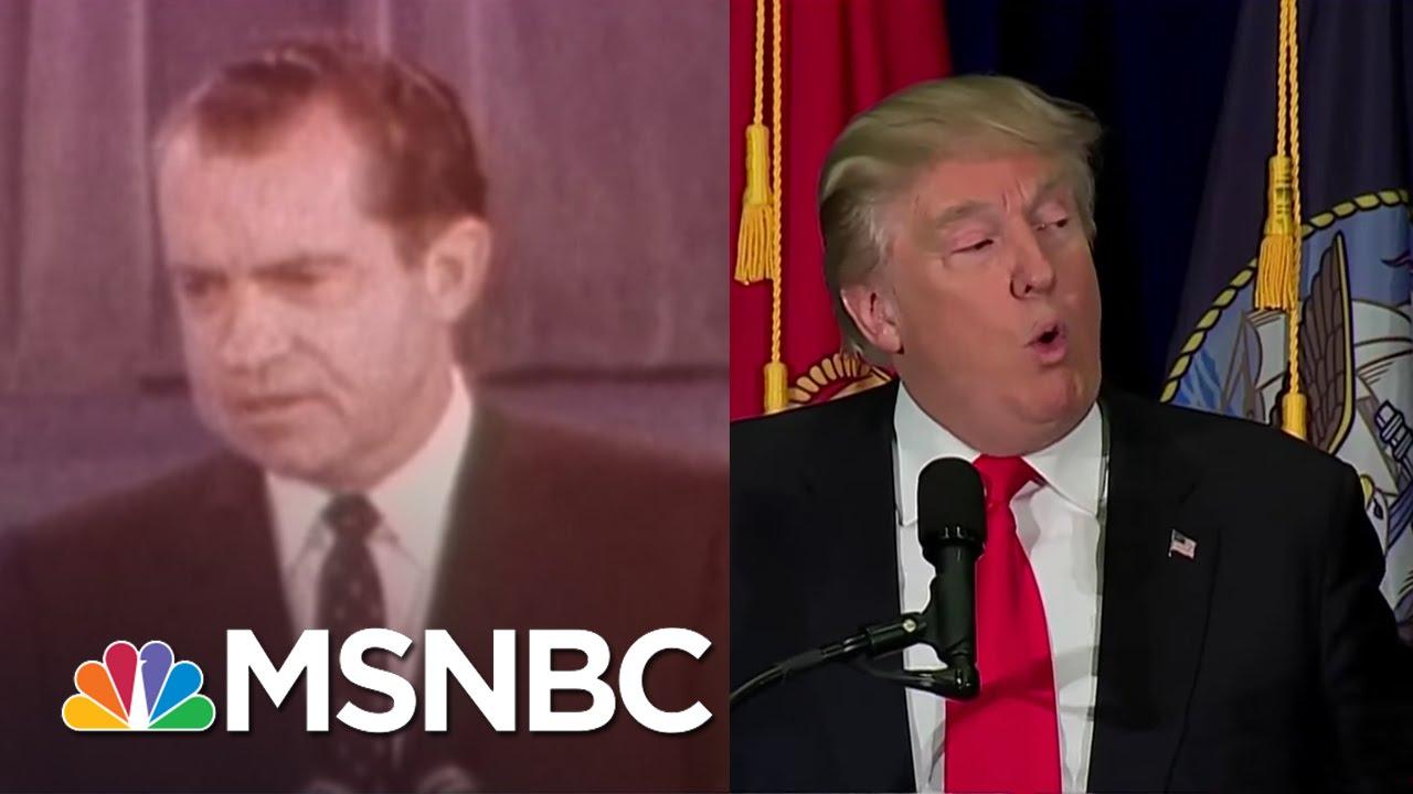 Google themes donald trump - Donald Trump Resurrects Fearful Richard Nixon Themes Rachel Maddow Msnbc