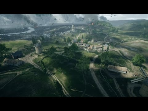 battlefield1 online on St. Quentin scar in 1080p 60fps