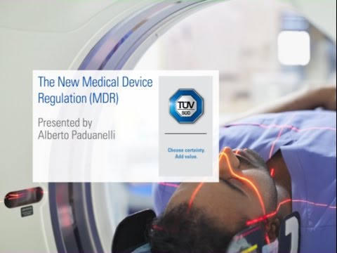The New Medical Device Regulation (MDR) - Webinar