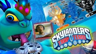 Skylanders Trap Team: 1st Level Gameplay + Free Trap Storage Box W/ Threatpack & Chompy Villain