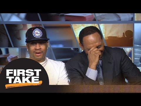Allen Iverson tells Stephen A Smith he trusts The Process  First Take  ESPN