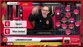 GOLDBRIDGE Best Bits | Tottenham 1-3 Man United