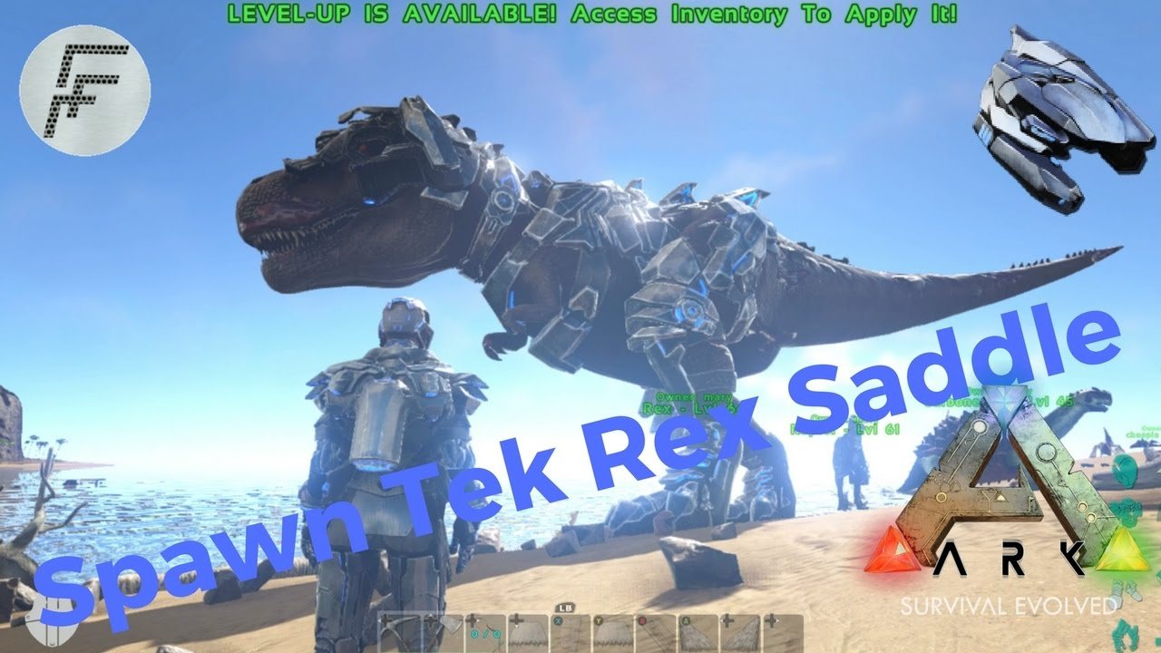 Ark survival evolved how to spawn tek tier rex saddle youtube ark survival evolved how to spawn tek tier rex saddle malvernweather Gallery