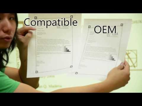 Differences between compatible toner and OEM toner cartridges (Brother TN-450 Model)