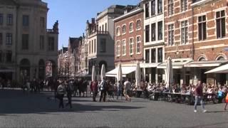 Leuven 1/3 - Oude Markt, Mechelsestraat, Grote Markt, Groot Begijnhof, 18 april 2015