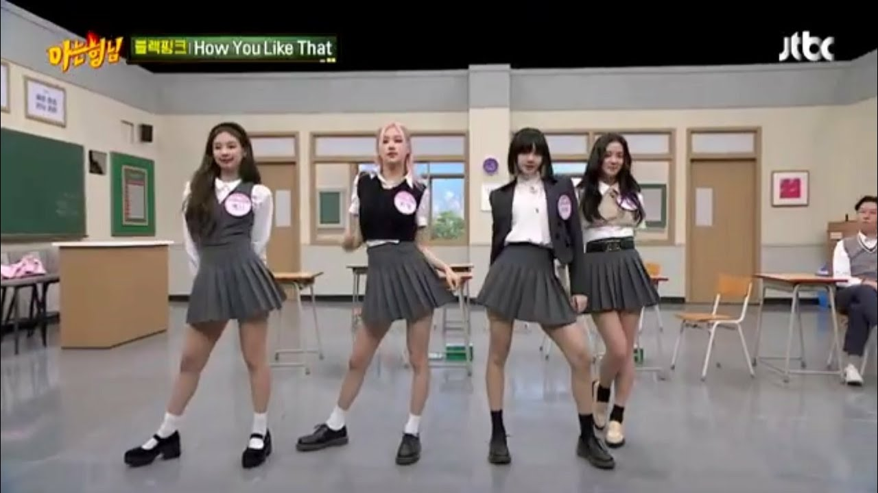 Download Blackpink Dance 'How You Like That, Pretty Savage & Lovesick Girls' In Knowing Bros 2020