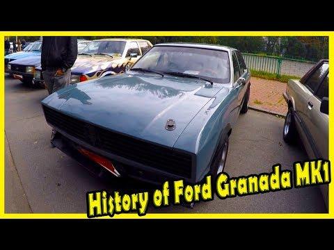 History of Classci Cars Ford Granada MK1 1977. Classic American Cars of the 70s.