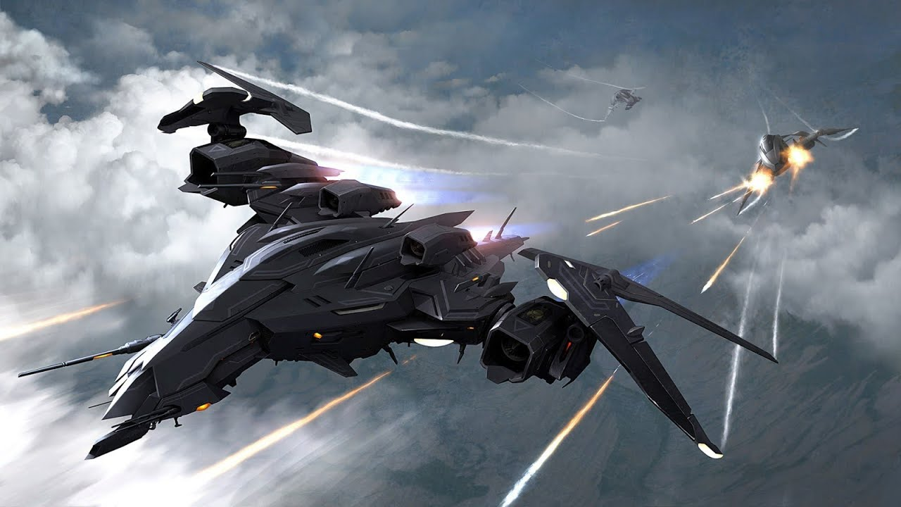 space fighter jets - 1280×720