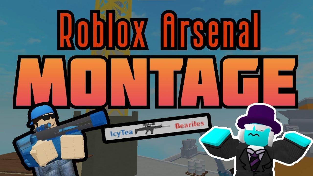 Roblox Arsenal Montage Beginnings 1 Youtube