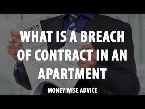 What Is a Breach of Contract in an Apartment