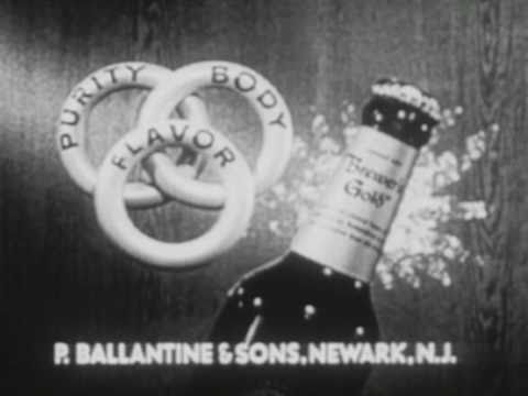 Ballantine Commercial (1950s)