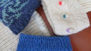 Как начинать вязать носки от манжеты