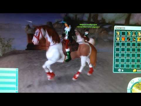 Марианна и я!! Симулятор лошадей