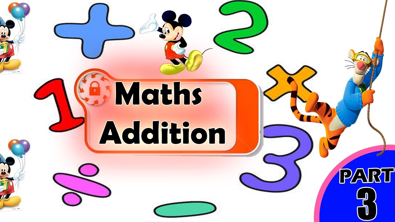 Introduction to Addition for Kids | Maths for kids | Math for ...