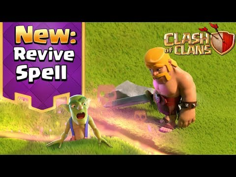 New Spell in Clash of Clans: The Revive Spell (UPDATE CONCEPT)