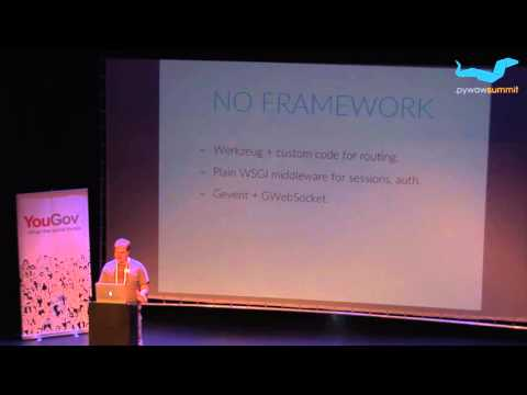 Brent Tubbs: Real-time web apps with (just) Python and Postgres - PyWaw Summit 2015