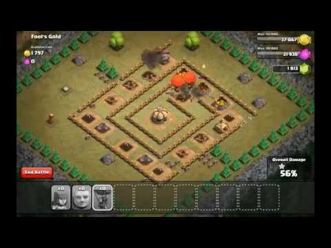 Clash of Clans: Fool's Gold Total Victory