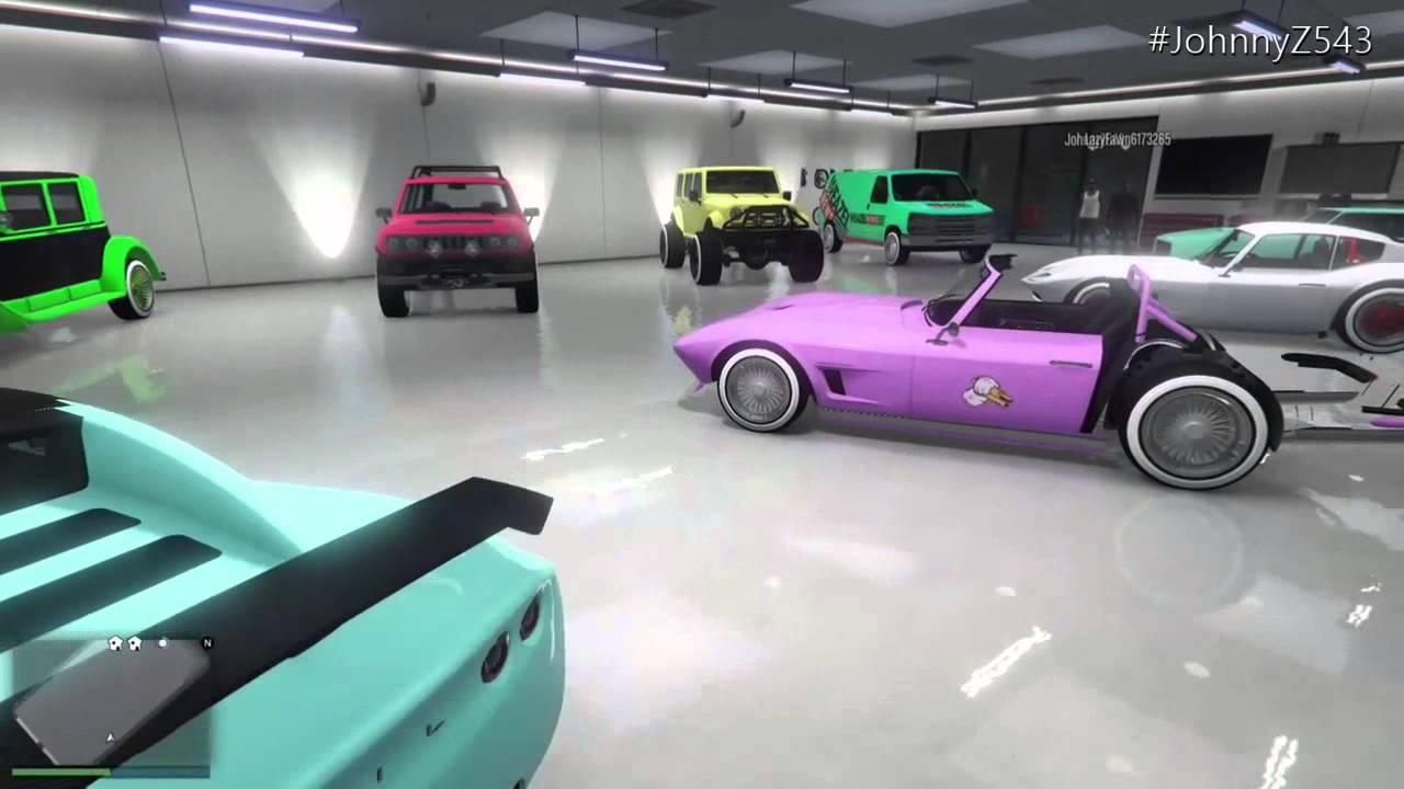 Gta 5 online garage showcase series 37 car show for Fenetre sale gta 5