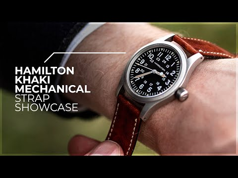 The Ultimate Way To Customise Your Watch! - Hamilton Khaki Mechanical Strap Showcase By WatchGecko