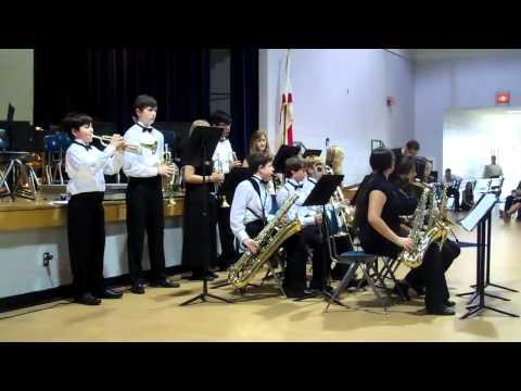 Osceola Middle School Jazz Band Spring Concert 2012