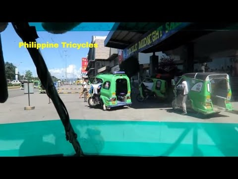 Tagum City Philippines, Tricycle Ride
