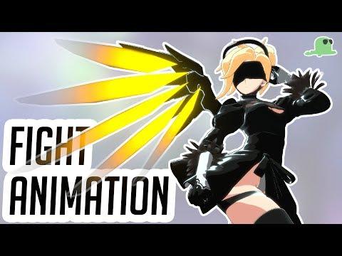 Mercy's Fantasy (Overwatch Fight Animation)