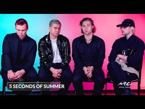 "5 Seconds Of Summer On ""Easier"""