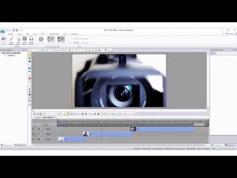 How to merge files using VSDC Free Video Editor