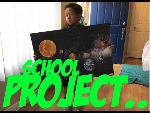 How To Make Sun Moon Amp Earth Science Project For 1st