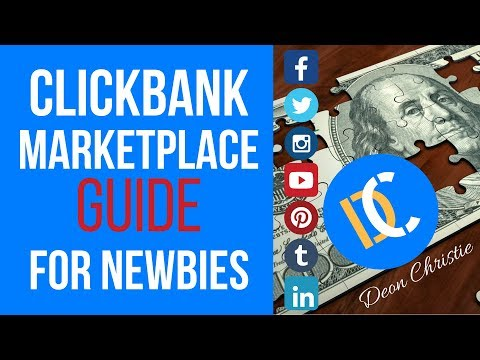 Clickbank Affiliate Marketplace guide to Make Money Online