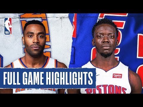 KNICKS At PISTONS | FULL GAME HIGHLIGHTS | February 8, 2020