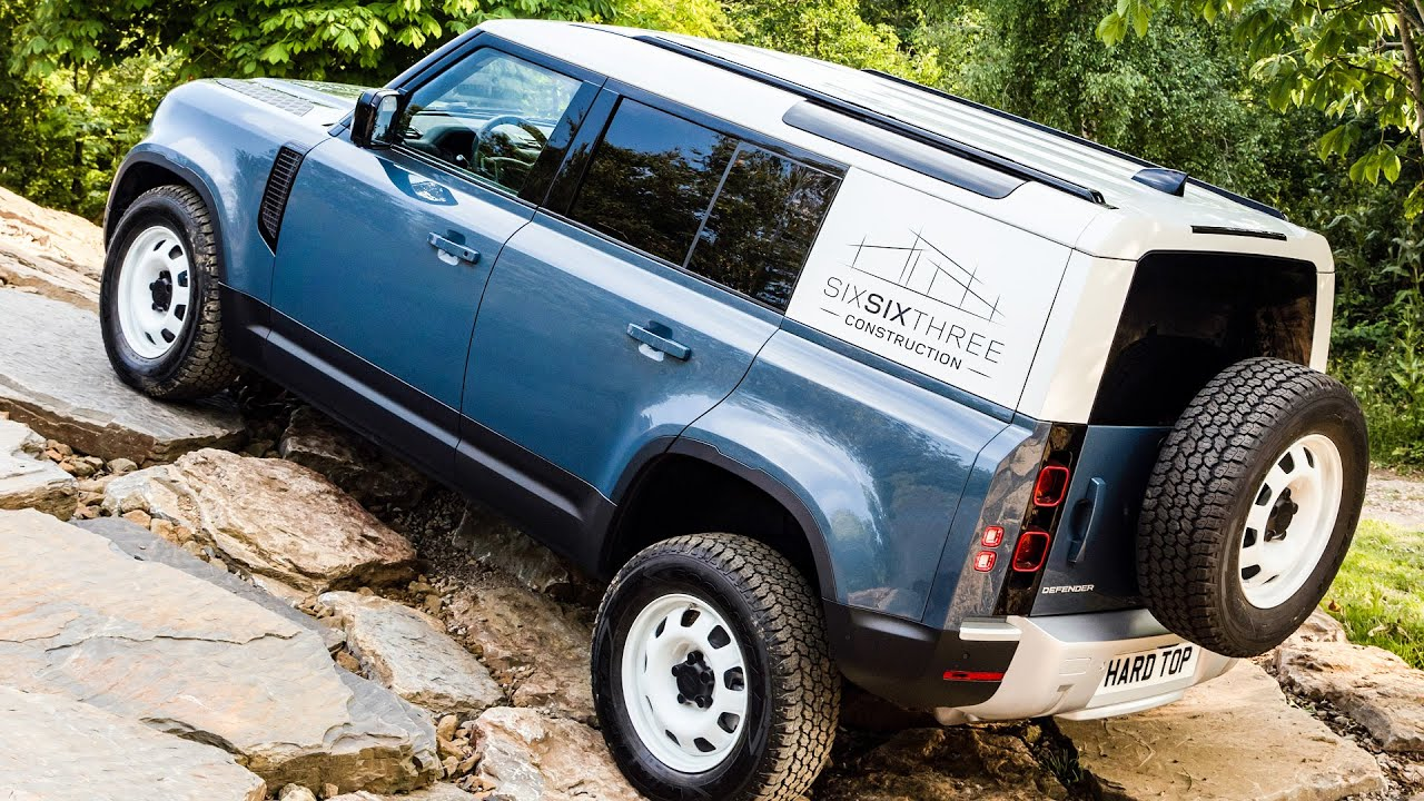 2021 Land Rover Defender Commercial - Coolest Cargo Van ...