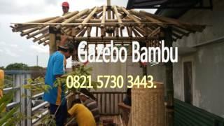 Gazebo Bambu Harga ~ Harga Gazebo ~ Jual Gazebo ~ 082157303443
